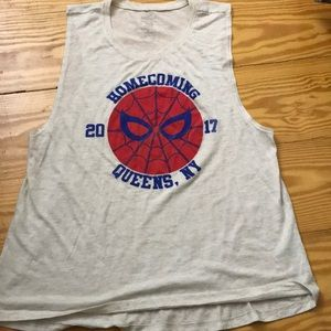 Authentic Marvel Spider-Man Tank Top